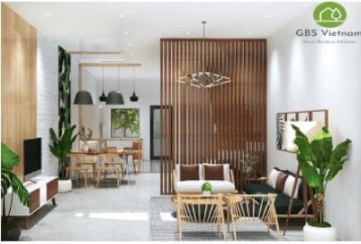 Ứng dụng nội thất xanh vào ngôi nhà hiện đại