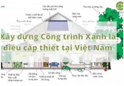 Xây dựng Công trình Xanh là điều cấp thiết tại Việt Nam