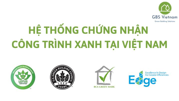 Hệ thống Chứng nhận Công trình xanh tại Việt Nam